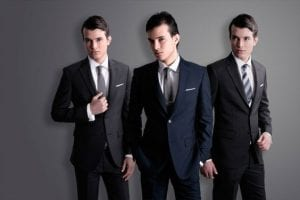 between the British, Italian and American suits