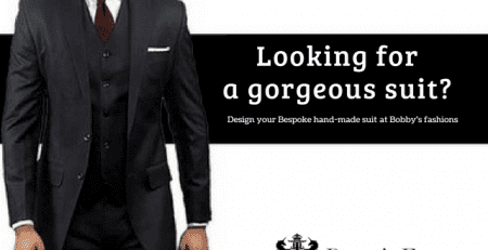 Bespoke handmade suits tailor